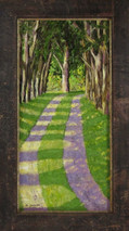 "Inslee, George - ""Inviting Passage"" framed SOLD"