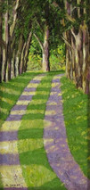 """Inslee, George - """"Inviting Passage"""" unframed"""