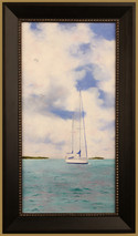 "Inslee, George - ""At Anchor"" framed"