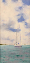 "Inslee, George - ""At Anchor"" unframed"