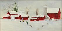 """Inslee, George - """"Almost Home"""" unframed"""