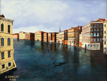"Inslee, George - ""Grand Canal"" unframed"