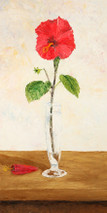 "Inslee, George - ""Hibiscus"" unframed"