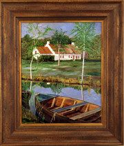 "Inslee, George - ""On the Marsh"" framed"