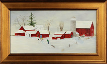 "Inslee, George - ""Almost Home"" framed"