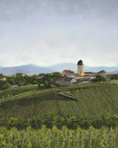 "Inslee, George - ""Beaujolais on the Vine"" unframed"