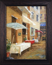 "Inslee, George - ""Cafe' Street"" framed"