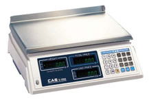 CAS S-2000 Scale 60 LB Capacity Legal For Trade