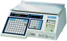 Alfa ALP1 / CAS LP1000 Label Printing Scale Legal For Trade