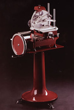 Red Ornate Fly Wheel Slicer (Stand Not Included)