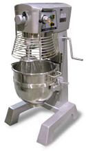2 HP Hobart Style Commercial Planetary 30 Qt Mixer with Guard and Timer