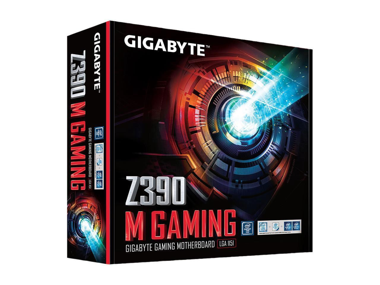Gigabyte Ultra Durable Z390 M GAMING Desktop Motherboard - Intel Chipset -  Socket H4 LGA-1151