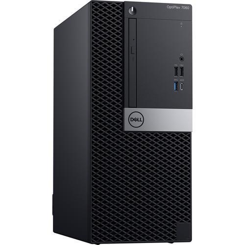 Dell OptiPlex 7060 Mini Desktop (3 2 GHz Intel Core i7-8700, 16 GB RAM, 256  GB SSD, Windows 10 Pro) RNX86