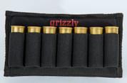 The Laramie holds 7 shotgun shells, 12, 16, 20 gauge