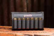The Laramie holds 7 shotgun shells, 12, 16, 20 gauge.