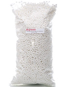 Large 3.5 Oz Bag, for a Soft Fill for all your craft and sewing needs  Large Beads for easy fill, less time, more fill  100% Polystyrene Beads, great for pillows, dolls, decorations, pet beds, draft dodger's and all sewing concepts.