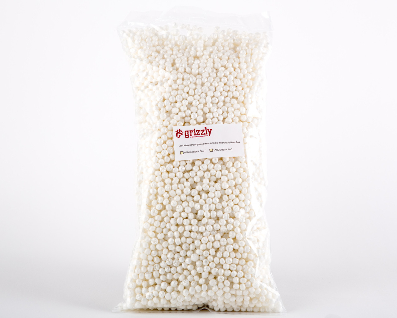 Grizzly Camera Bean Bag Polystyrene Fill Beads Large