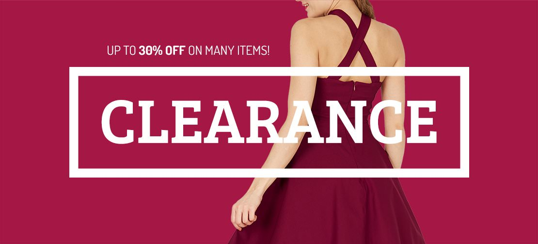 Grab up to a massive 60% off right now on our current clearance! Hurry before they sell out!