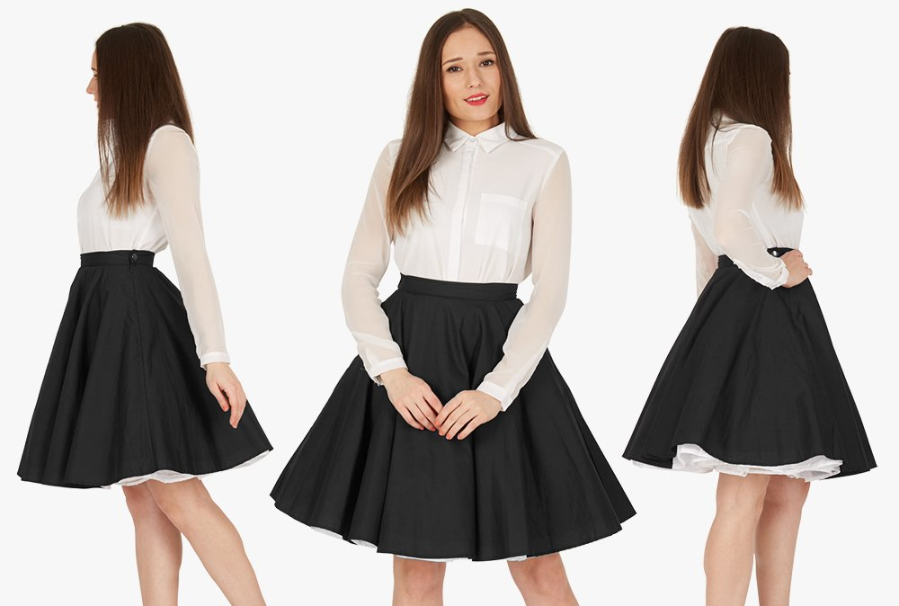 This cute vintage skirt, yours for just £23.99