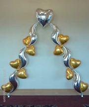 Mylar shapes (hearts)