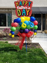 Happy Father's Day Balloon Bouquet Pole
