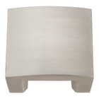 "254-BRN Centinel Solid Knob 1.25"" Cc Brushed Nickel"