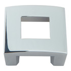 "255-CH Centinel Square Knob 1.25"" Cc Polished Chrome"