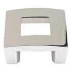 "255-PN Centinel Square Knob 1.25"" Cc Polished Nickel"