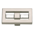 261-BRN Nobu Rectangle Knob Brushed Nickel