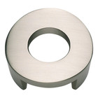 268-BRN Round Centinel Knob Brushed Nickel
