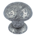 "286-P Olde World Small Knob 1"" Pewter"