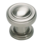 313-BRN Bronte Round Knob Brushed Nickel