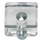 3145-CH Optimism Square Knob Polished Chrome