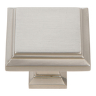 289-BRN Sutton Place Square Knob Brushed Nickel
