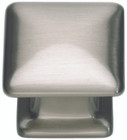322-BRN Alcott Square Knob Brushed Nickel