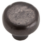 331-ORB Distressed Round Knob Oil Rubbed Bronze