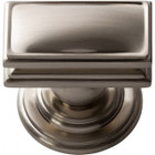 377-BRN Campaign Rectangle Knob Brushed Nickel