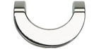 A854-PS Loop Pull 42 Mm Cc Polished Stainless Steel