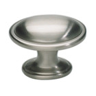 316-BRN Austen Oval Knob Brushed Nickel