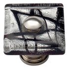3207-CH Eclipse Square Glass Knob Polished Chrome