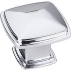 1091PC Knob Milan 1 Polished Chrome 1-3/16""