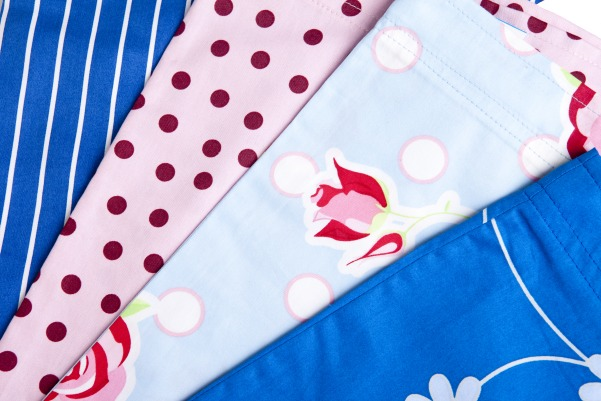 Fabulous fabrics on all our hospital gowns