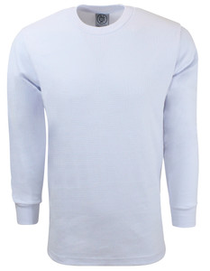 WHITE PREMIUM HEAVYWEIGHT THERMAL T-SHIRT