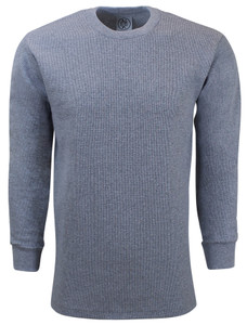 HEATHER PREMIUM HEAVYWEIGHT THERMAL T-SHIRT