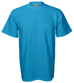 TURQUOISE PREMIUM HEAVYWEIGHT T-SHIRT