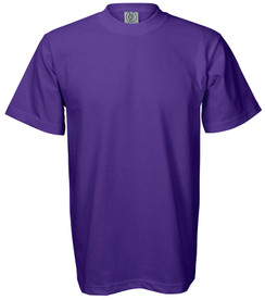 PURPLE PREMIUM HEAVYWEIGHT T-SHIRT