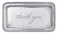 "Mariposa ""Thank You"" Tray"
