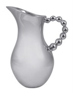 Mariposa Pearled Handle Tall Pitcher