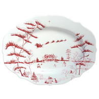 Country Estate Ruby Medium Serving Platter