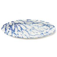 Vietri School Of Fish Narrow Oval Platter